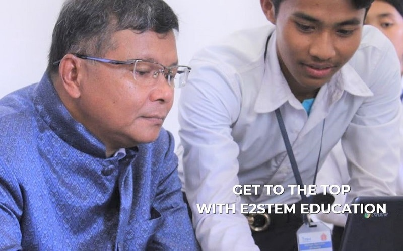 Cambodian students prepare to compete in global STEM challenge