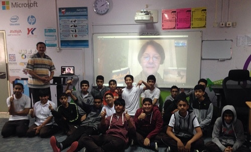 Group skype session