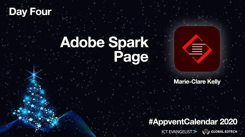 Adobe Spark Page