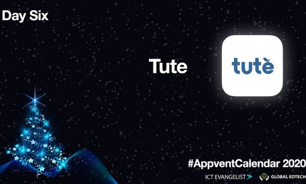 #AppventCalendar Day Six – @TuteEducation