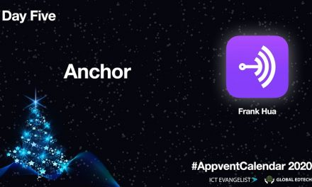 #AppventCalendar Day Five – @Anchor By @PhuHua