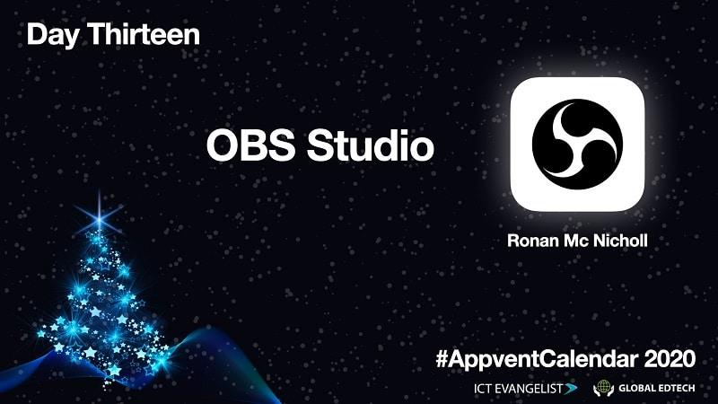 OBS Studio - make an educational screencast