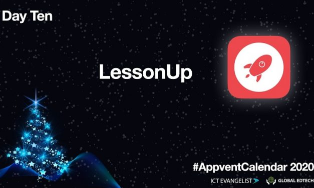 Day Ten – Interactive lessons using lessonup