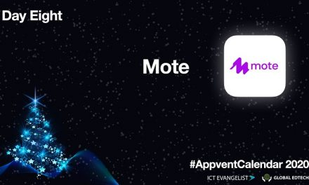 AppventCalendar Day Eight – Mote – A Feedback Tool