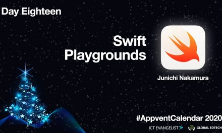 Day Eighteen Of The #AppventCalendar 2020 – Teaching Coding using Swift Playgrounds