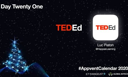 Day 21 – #AppventCalendar – Learning Through Video -@TED_ED