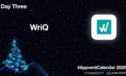 #AppVentCalendar – Day Three – WriQ from @Texthelp