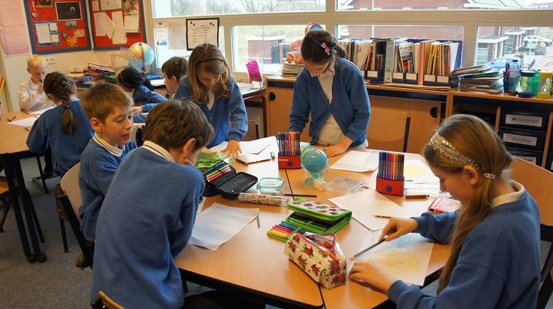 Astronomy & Society Group - British School The Hague (NL) - primary school