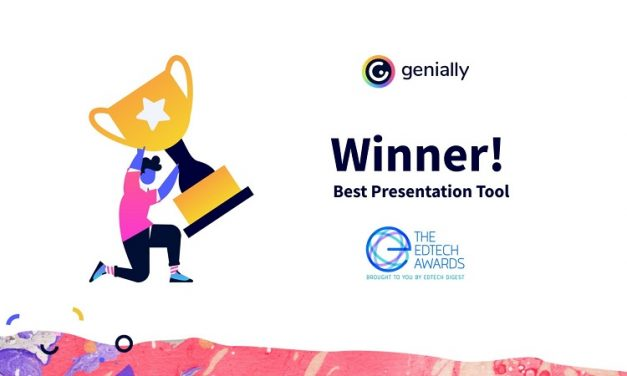 Best Presentation Tool 2021: Genially Wins EdTech Award