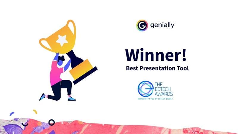 Best Presentation Tool 2021: Genially Wins EdTech Award