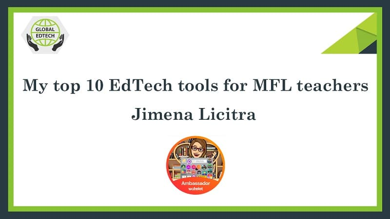 My top 10 EdTech tools for MFL teachers