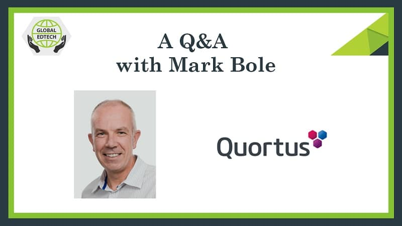 Addressing the digital divide...A Q&A with Mark Bole from Quortus